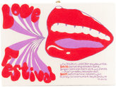 Olympia Le-Tan printed box clutch - women - Brass/Canvas/Wool Felt - One Size