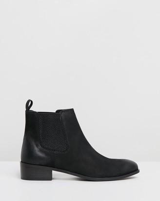 Siren Women's Black Heeled Boots - Sargeant - Size One Size, 40 at The Iconic