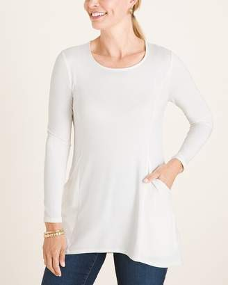 Chico's Chicos Front Pocket Tunic