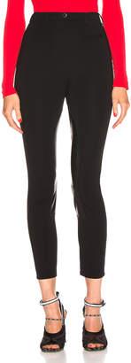 Burberry High Waisted Legging in Black | FWRD