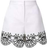 Emilio Pucci crocheted design shorts