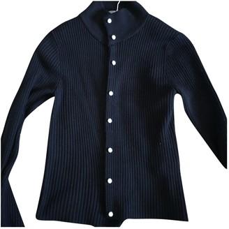 Sandro Navy Wool Knitwear for Women