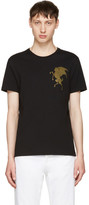 Alexander McQueen Black 'Coat of Arms' T-Shirt