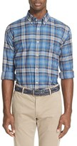 Paul & Shark Men's Plaid Flannel Sport Shirt
