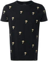 Marc Jacobs embroidered palm tree T-shirt - men - Cotton - XS