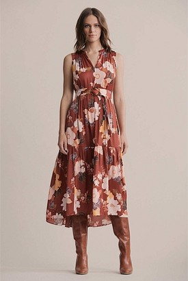 Witchery Belted Tiered Dress