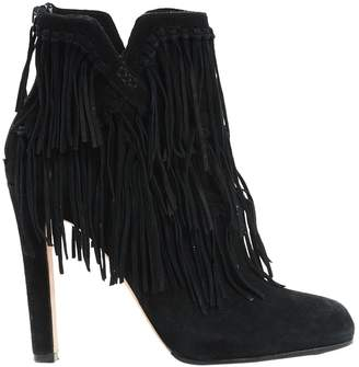 Jean-Michel Cazabat Jean Michel Cazabat \N Black Suede Ankle boots