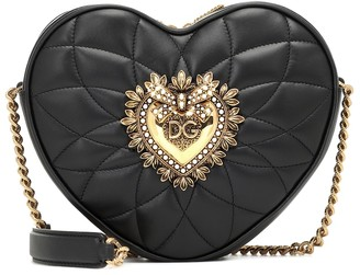 Dolce & Gabbana Devotion leather crossbody bag