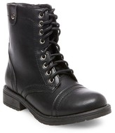 Cat & Jack Girls' Lene Lace-Up Boots Cat & Jack - Black