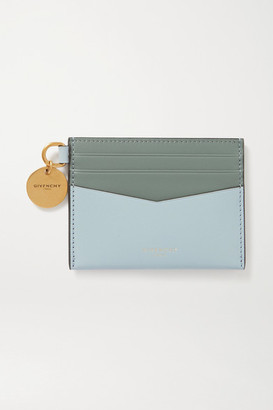 Givenchy Two-tone Leather Cardholder - Blue