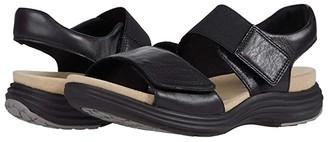 Aravon Beaumont Two Strap (Black) Women's Sandals