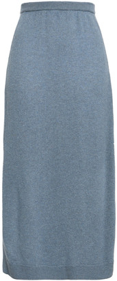 Pringle Melange Cashmere Midi Skirt