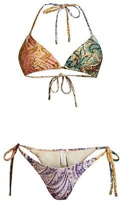 Zimmermann Brighton 2-Piece Triangle Bikini Set