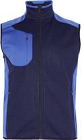 Rlx Ralph Lauren - Two-tone Fleece-panelled Jersey Gilet