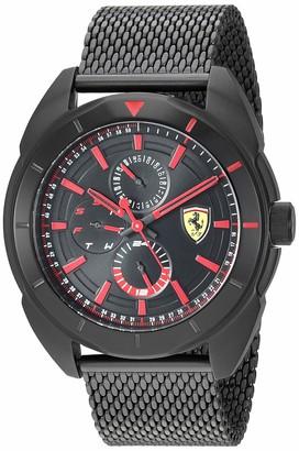 Ferrari Men's Forza Quartz Black IP and Bracelet Casual Watch