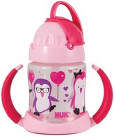 NUK Straw Learner Cup, 5-Ounce (Pink) by