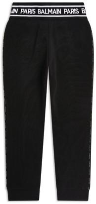 Balmain Kids Logo Tape Sweatpants (4-16 Years)