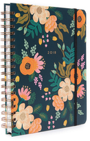 Rifle Paper Co. 2018 Lively Spiral Bound Planner