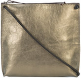 B May metallic crossbody bag