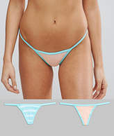 Bonds 2 Pack Stripe String Thongs