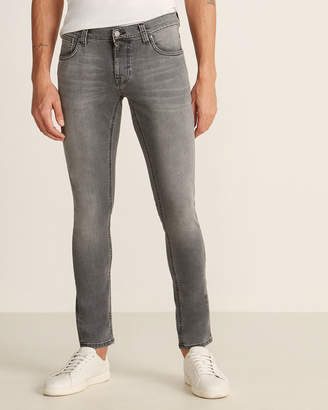 Nudie Jeans Mid Grey Power Tight Terry Jeans