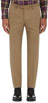 Luciano Barbera Men's Cotton Faille Trousers-TAN