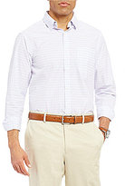 Hart Schaffner Marx Mini Plaid Long-Sleeve Woven Shirt