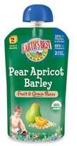 Earth's Best Organic 4.2 oz. Pear Apricot Barley Fruit & Grain Puree
