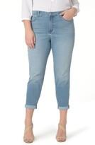 NYDJ Plus Size Women's Alex Roll Cuff Ankle Pants