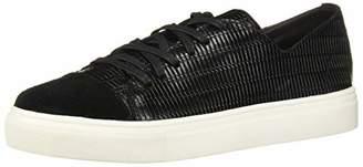 Kaanas Women's GLERA Basketweave LACE-UP Leather Fashion Sneaker