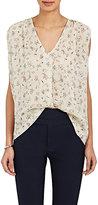 Isabel Marant Women's Torrell Floral-Print Gauze Top