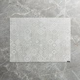 Crate & Barrel Chilewich ® Mosaic Grey Placemat