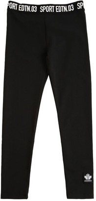 DSQUARED2 Stretch Cotton Jersey Leggings