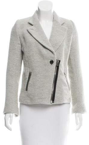IRO Wool Notch-Lapel Jacket