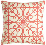 "Legacy Puerta Scrollwork Pillow, 22""Sq."