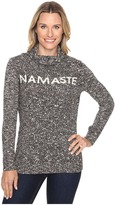 Life is Good Namaste Funnel Neck Sweater