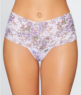 Hanky Panky Violet Spray Retro Thong Plus Size