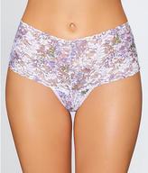 Hanky Panky Violet Spray Retro Thong Plus Size