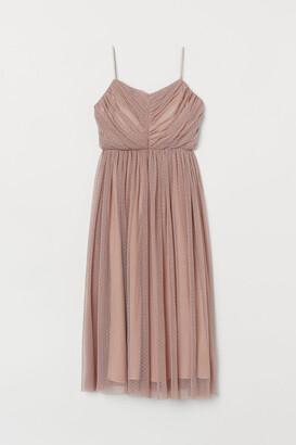 H&M Calf-length Tulle Dress