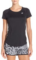 New Balance Women's 'Ice' Mesh Back Tee