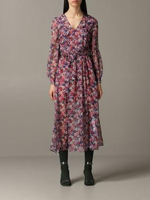 Twin-Set Twin Set Dress Long Dress With Floral Pattern