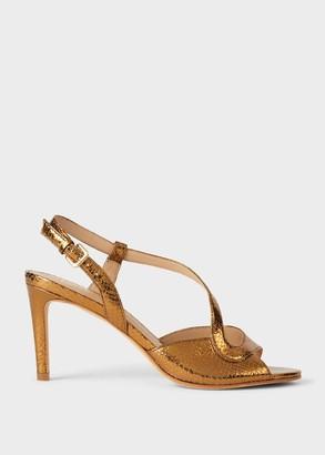Hobbs Clarissa Reptile Stiletto Sandals