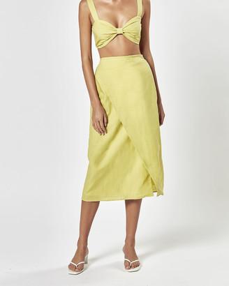 Charlie Holiday Mila Wrap Skirt