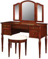 Asstd National Brand Alexandria Vanity and Bench