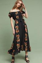 Carolina K. Reanna Silk Midi Dress