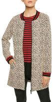 Sanctuary Leopard Print City Coat