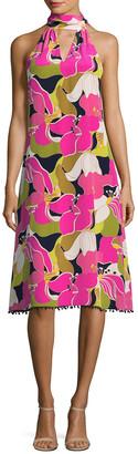 Trina Turk Wailua Silk Dress