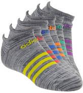 adidas Girls' Superlite 6-pack Low Cut Socks