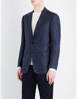 Armani Collezioni Regular-fit Wool-blend Jacket