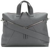 Orciani zip detail messenger bag
